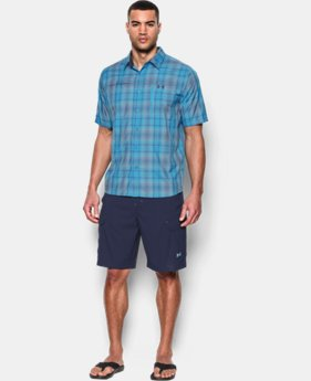 Men's UA Tide Swing Plaid Short Sleeve Shirt LIMITED TIME: FREE U.S. SHIPPING 1 Color $39.74 to $52.99
