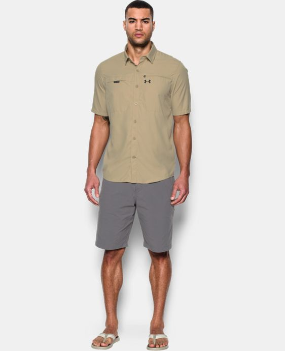 Men's UA Fish Stalker Short Sleeve  LIMITED TIME: FREE SHIPPING 1 Color $69.99