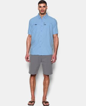 New to Outlet Men's UA Fish Stalker Short Sleeve   1 Color $44.99