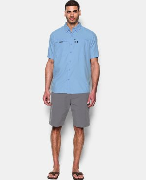 Best Seller Men's UA Fish Stalker Short Sleeve   5 Colors $59.99