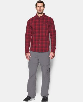 Men's UA Victor Plaid Long Sleeve   1 Color $84.99