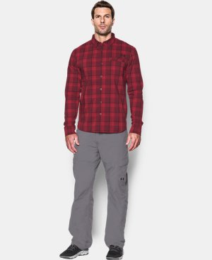 Men's UA Victor Plaid Long Sleeve  LIMITED TIME: FREE SHIPPING 1 Color $74.99