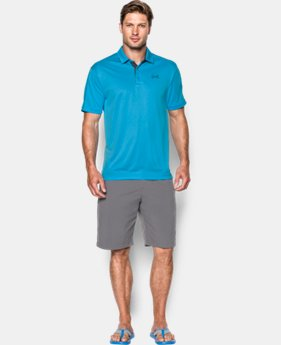 New to Outlet Men's UA Fish Polo  1 Color $29.99