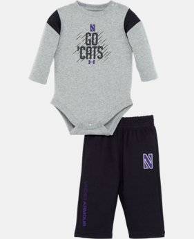 Boys' Newborn Northwestern Purple Reign Pant Set