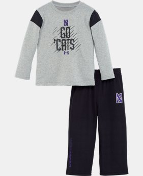 Boys' Toddler Northwestern Purple Reign Pant Set   $31.99