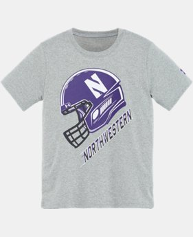 Boys' Pre-School Northwestern Helmet T-Shirt