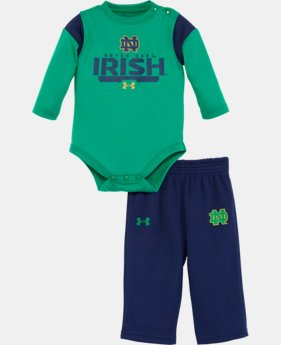 Kids' Newborn Notre Dame Irish Pant Set