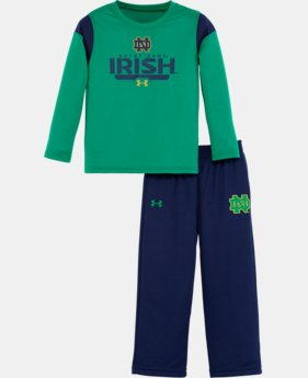 Boys' Toddler Notre Dame UA Pants Set LIMITED TIME: FREE U.S. SHIPPING  $42