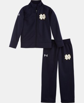 Kids' Toddler Notre Dame Legacy Irish Track Set