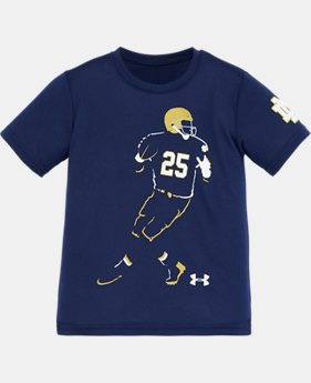 Boys' Pre-School Notre Dame Football Player T-Shirt
