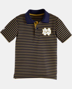 Boys' Toddler Notre Dame Yarn Dye Polo