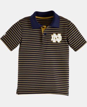 Boys' Pre-School Notre Dame Yarn Dye Polo Bodysuit LIMITED TIME: FREE U.S. SHIPPING 1 Color $24.99