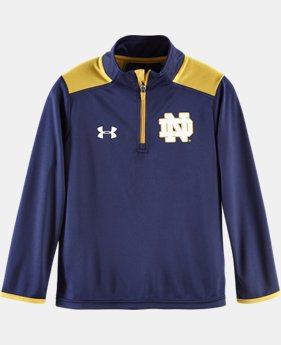 Boys' Toddler Notre Dame Coach's 1/4 Zip