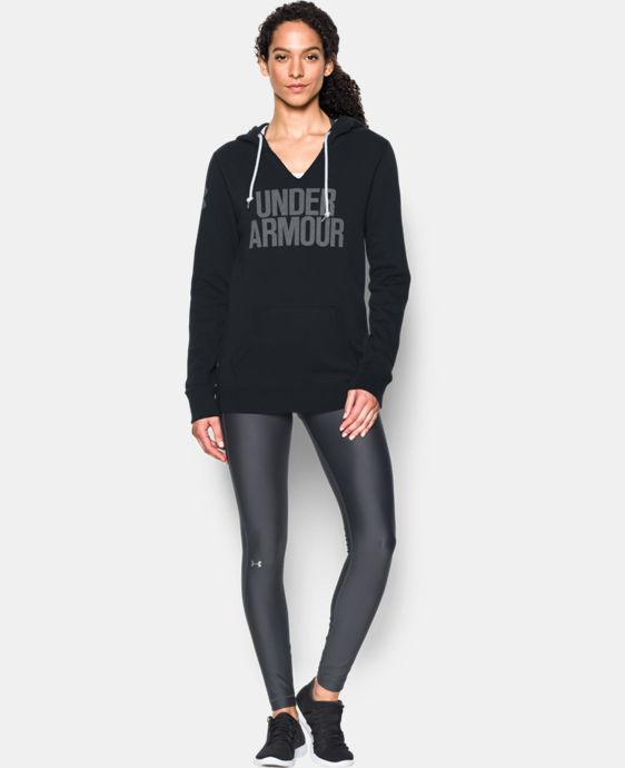Women's UA Favorite Fleece Word Mark Popover  5 Colors $48.99