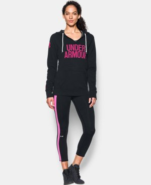 Women's UA Favorite Fleece Word Mark Popover LIMITED TIME OFFER + FREE U.S. SHIPPING  $41.24