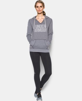 Women's UA Favorite Fleece Word Mark Popover  1 Color $31.49