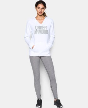 Women's UA Favorite Fleece Word Mark Popover  10 Colors $64.99