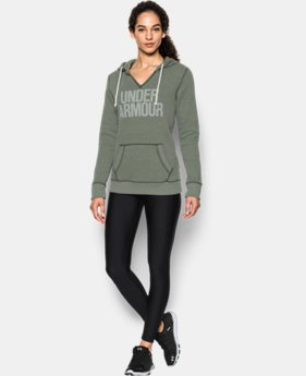 Women's UA Favorite Fleece Word Mark Popover  1 Color $31.99 to $41.99