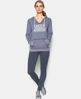 Women's UA Favorite Fleece Word Mark Popover LIMITED TIME OFFER 1 Color $47.26