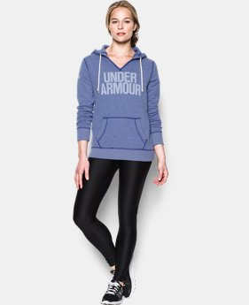 Women's UA Favorite Fleece Word Mark Popover
