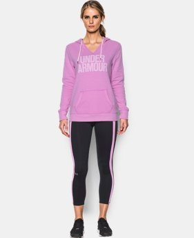 Best Seller Women's UA Favorite Fleece Word Mark Popover  1 Color $54.99