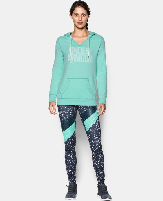Women's UA Favorite Fleece Word Mark Popover LIMITED TIME: 15% OFF 3 Colors $64.99