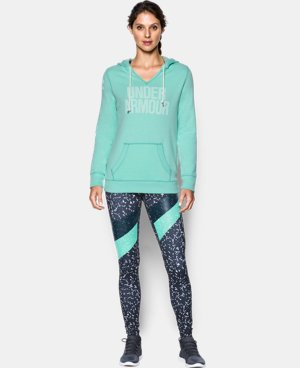 Women's UA Favorite Fleece Word Mark Popover  15 Colors $64.99