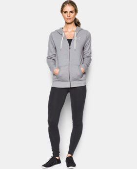 Women's UA Favorite Fleece Full Zip  5 Colors $74.99