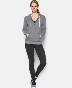 New Arrival Women's UA Favorite Fleece Full Zip  2 Colors $64.99