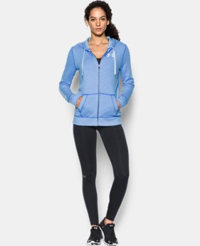 Women's UA Favorite Fleece Full Zip  3 Colors $64.99