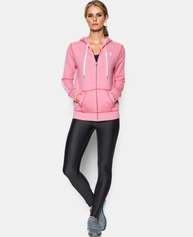 Women's UA Favorite Fleece Full Zip  1 Color $74.99