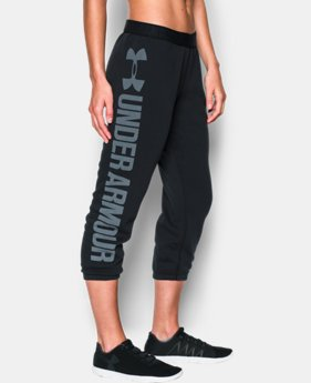 Women's UA Favorite Fleece Capri  1 Color $37.99