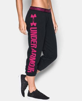Women's UA Favorite Fleece Capri LIMITED TIME OFFER + FREE U.S. SHIPPING  $37.49
