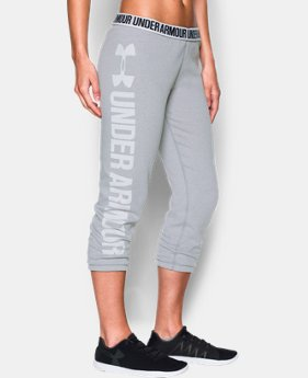 Women's UA Favorite Fleece Capri  3 Colors $49.99