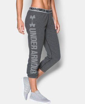 Women's UA Favorite Fleece Capri LIMITED TIME OFFER 1 Color $39.99