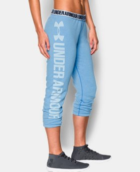 Women's UA Favorite Fleece Capri LIMITED TIME OFFER + FREE U.S. SHIPPING 5 Colors $37.49