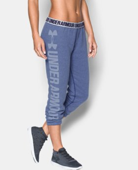 New to Outlet Women's UA Favorite Fleece Capri  2 Colors $20.99 to $37.99