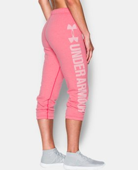 New Arrival Women's UA Favorite Fleece Capri  1 Color $49.99