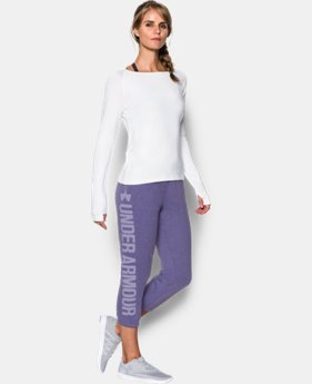 New Arrival  Women's UA Favorite Fleece Capri  1 Color $59.99