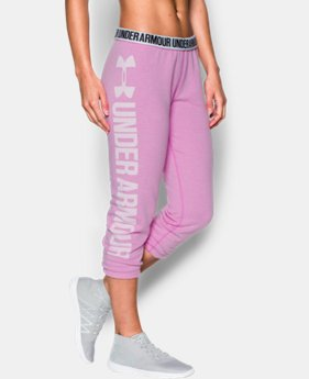 Women's UA Favorite Fleece Capri  9 Colors $49.99