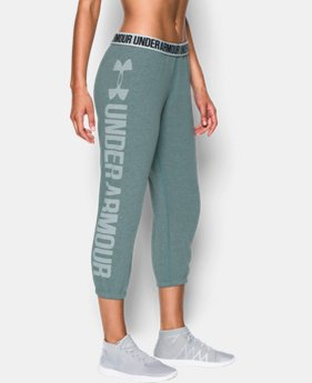 Women's UA Favorite Fleece Capri LIMITED TIME OFFER + FREE U.S. SHIPPING 6 Colors $37.49