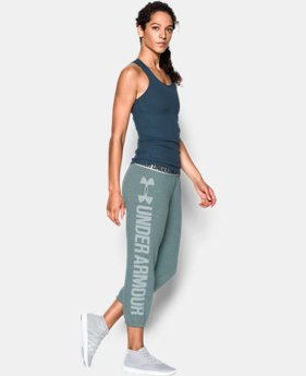 Women's UA Favorite Fleece Capri  1 Color $49.99