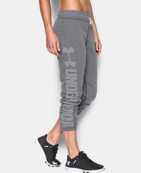 Women's UA Favorite Fleece Pant LIMITED TIME OFFER + FREE U.S. SHIPPING 2 Colors $41.24