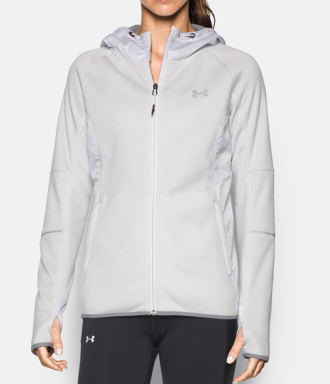 Under Armour Womens Swacket Full Zip Jacket Hoodie 1283259