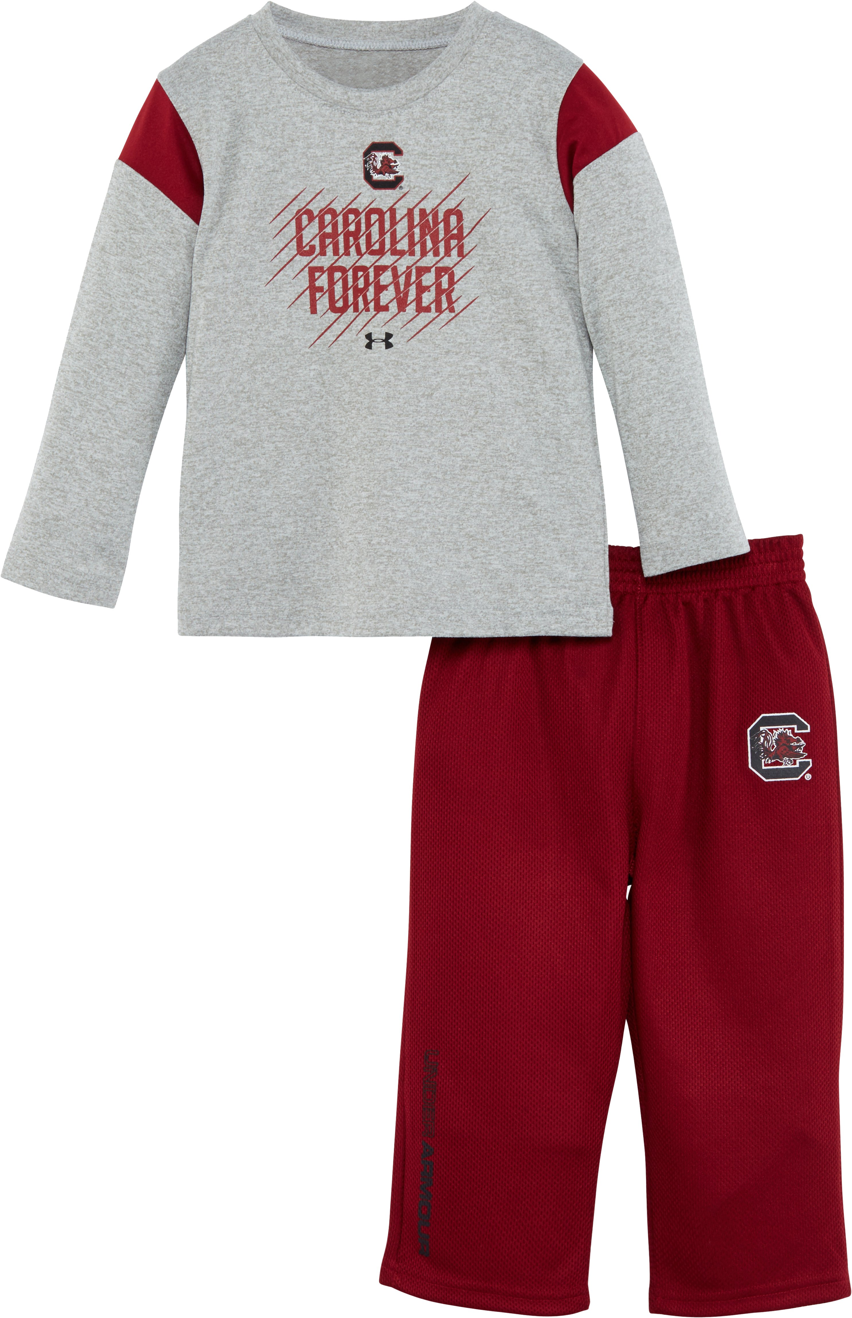 Boys' Infant South Carolina Forever Pant Set, True Gray Heather, Laydown