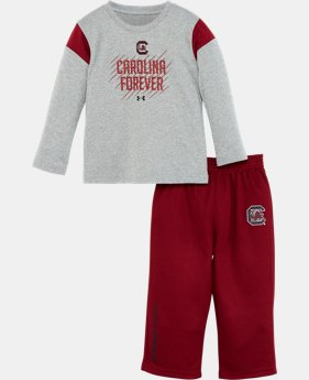 Boys' Toddler UA South Carolina Forever Pant Set   $31.99