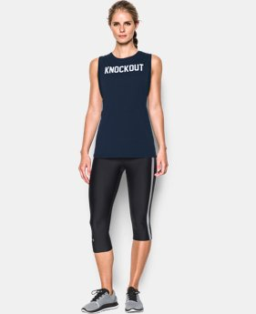 Women's UA Knockout Muscle Tank LIMITED TIME: FREE SHIPPING  $29.99