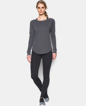 Women's UA Waffle Raglan  LIMITED TIME: 15% OFF  $42.49 to $49.99