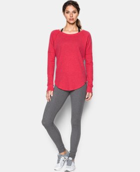 Best Seller Women's UA Waffle Raglan  1 Color $44.99