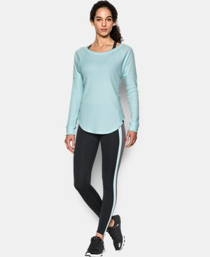 Women's UA Waffle Raglan  LIMITED TIME: UP TO 30% OFF 1 Color $33.74